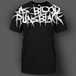 As Blood Runs Black Logo All Over Print Black T-Shirt