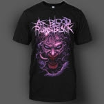 As Blood Runs Black The Nightmare Black T-Shirt