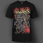As Blood Runs Black Zombies Black T-Shirt