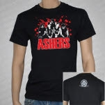 Ashers Band Black T-Shirt