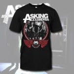 Asking Alexandria FDTD Band Photo Black T-Shirt