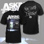 Asking Alexandria FDTD Album Art Black T-Shirt