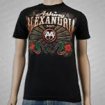 Asking Alexandria Winged Snake Black T-Shirt