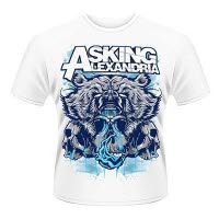 Asking Alexandria Bear Skull T-Shirt