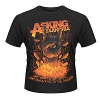 official Asking Alexandria Metal Hands T-Shirt