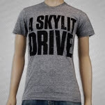 A Skylit Drive Blocker Tri Blend Athletic Gray T-Shirt