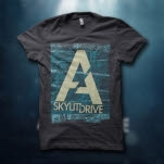 A Skylit Drive Fingerprint Dark Gray T-Shirt