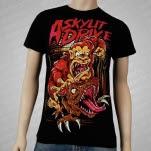 A Skylit Drive Gorilla Vs Raptor Black T-Shirt