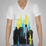A Skylit Drive Horizon White T-Shirt