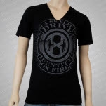 A Skylit Drive Identity On Fire V Neck Black T-Shirt