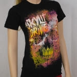 A Skylit Drive Nuclear Skull T-Shirt