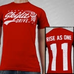 A Skylit Drive Swoosh Red T-Shirt
