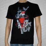 A Static Lullaby Red Bull Skull Black T-Shirt
