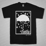Atlantic Avenue Umbrella Black T-Shirt