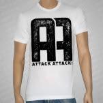 Attack Attack AA Logo White T-Shirt