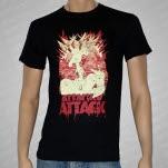 Attack Attack Alien Planet Black T-Shirt