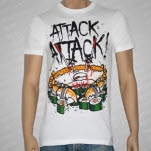 Attack Attack Crab Sushi White T-Shirt