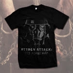 Attack Attack Gas Mask Black T-Shirt