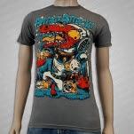 Attack Attack Gator Asphalt Gray T-Shirt