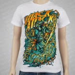 Attack Attack God of Lightning White T-Shirt