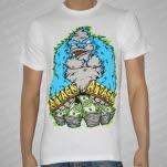 Attack Attack Gorilla White T-Shirt
