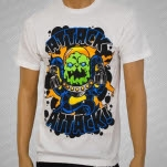 Attack Attack Invader White T-Shirt
