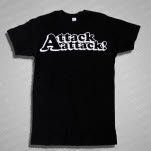 Attack Attack Hollow Logo Black T-Shirt