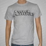 Attack Attack Logo Heather Gray T-Shirt