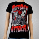 Attack Attack Mobsters Black T-Shirt