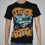 Attack Attack Monster Truck Black T-Shirt