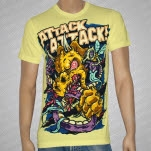 Attack Attack Rhino Yellow T-Shirt