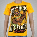 Attack Attack Swinging Ape Gold T-Shirt