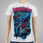 Attack Attack Shark Fight White T-Shirt