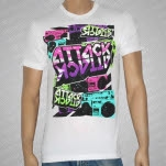Attack Attack Soundwave Boombox White T-Shirt