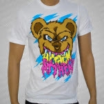 Attack Attack Teddy Scare White T-Shirt