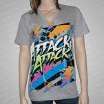 Attack Attack Voltage Heather Gray T-Shirt
