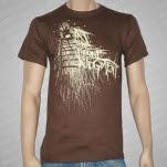 At The Throne of Judgment Chair Brown T-Shirt