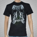 At The Throne of Judgment Elephant Black T-Shirt