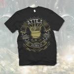 Attila Biker Black T-Shirt