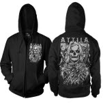 Attila Death Is Calling Black Hoodie Zip