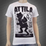 Attila Neighborhood White T-Shirt