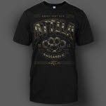 Attila Punisher Black T-Shirt