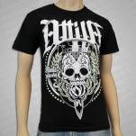official Attila Sugar Skull Black T-Shirt