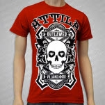 Attila Villains Axes Red T-Shirt