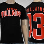 Attila Villians 13 Black T-Shirt