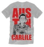 Austin Carlile Self Portrait Silver Gray T-Shirt