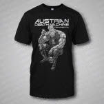 Austrian Death Machine Triple Brutal Black T-Shirt
