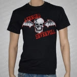 Avenged Sevenfold Bat Death Black T-Shirt
