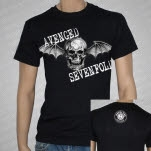 Avenged Sevenfold Big Deathbat Black T-Shirt