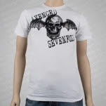 Avenged Sevenfold Big Deathbat White T-Shirt